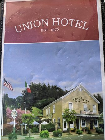 Occidental, CA: Union Hotel
