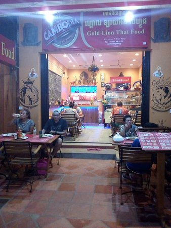 Gold Lion Thai Food: May 2018