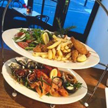 Greater Hobart, ออสเตรเลีย: Tasmanian Seafood Platter