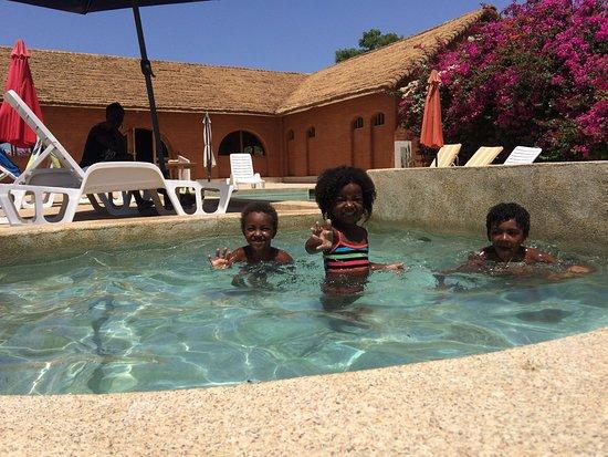 Fadial, Senegal: Kid's paradise