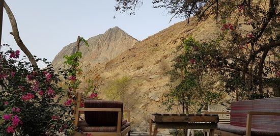 Wadi Bani Awf, Oman: Bait Bimah view