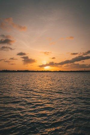 Bounty Adventures: Beautiful sunset.