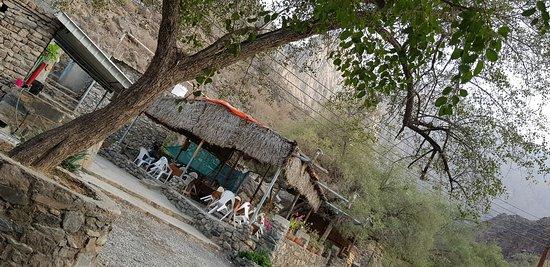 Wadi Bani Awf, Oman: Dining area