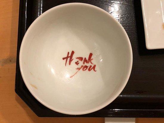 Torafuku Takagawa takashimaya SC ten: Bottom of Rice Bowl
