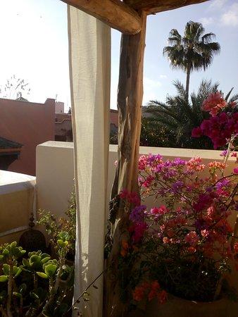 Riad Snan13: Vistas desde la terraza del riad