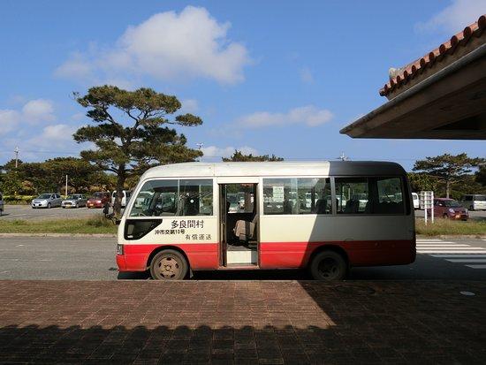 Taramajima Island: 有料バス