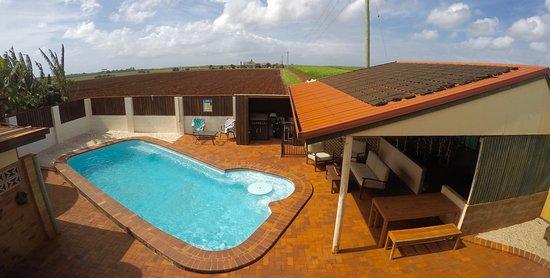 Bargara, Australia: Solar heated swimming pool for your enjoyment