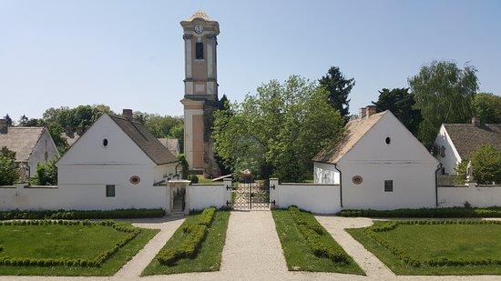 Oroszlany, ฮังการี: kilátás a kastélyból