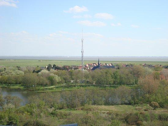 Nes, Niederlande: uitzicht richting Buren