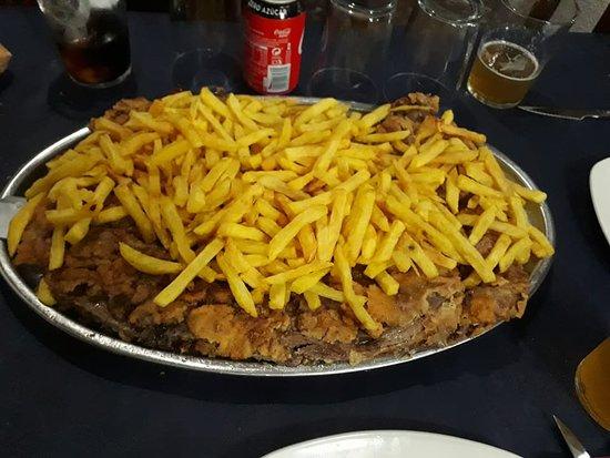 """Begotxu Restaurante: El famoso """"Begotxu"""" para 4 personas,... y para 6 también"""