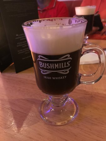 The Coachman's Bar & Restaurant : Irish coffee