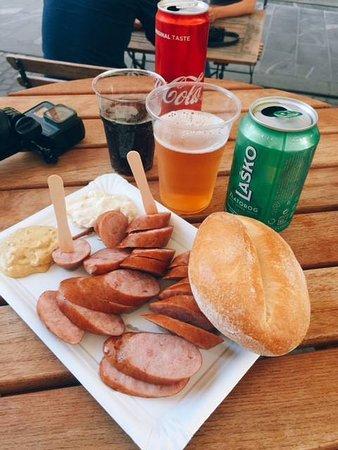 Klobasarna: delicious sausage