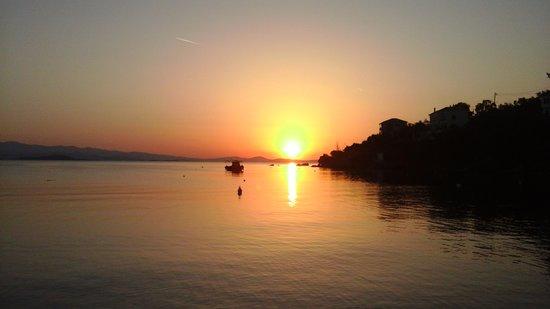 Chorto, กรีซ: Horto the best sunset!