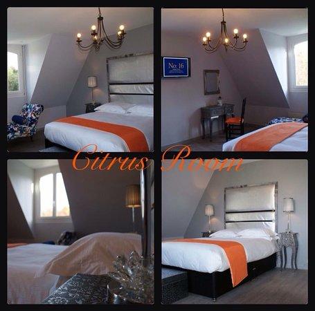 Tessy-sur-Vire, Frankrike: Citrus Room