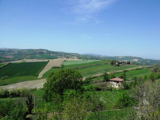 Mondavio, Italy: Vista dal borgo