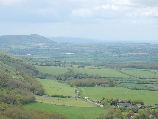 Poynings, UK: The view from nearby Devil's Dyke restaurant.