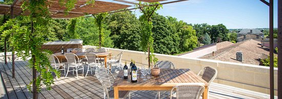 Labarde, ฝรั่งเศส: Terrasse roof top