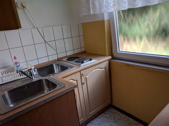 Lubniewice, Polen: Wnętrze kuchni