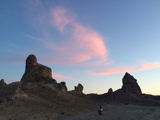 Trona Pinnacles: We are just small things in this place.
