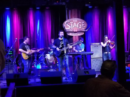Jason Duggins Band at The Stage on Broadway