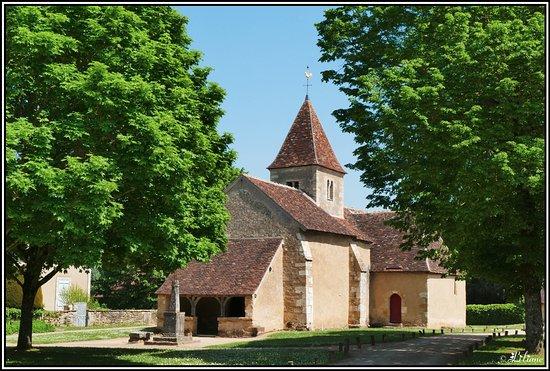 Nohant-Vic, France: Eglise