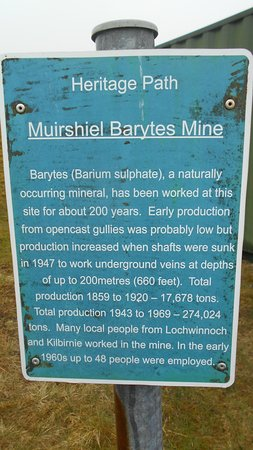 Lochwinnoch, UK: Mine Description