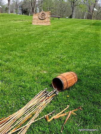 Peebles, OH: Atlatl - spear throwers
