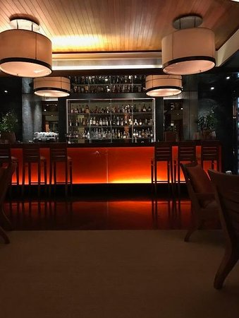 SILK Restaurant & Bar: the bar in the restaurant