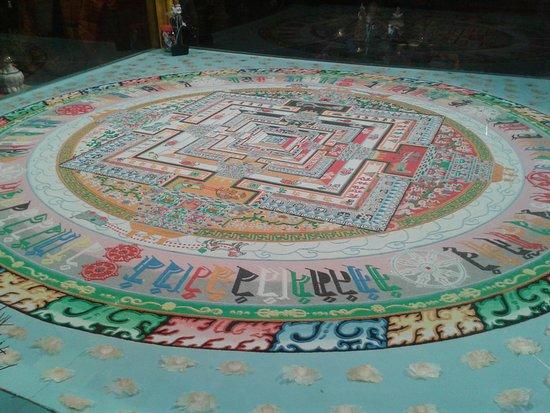 Buddhist Temple Datsan Gunzechoinei: мандала