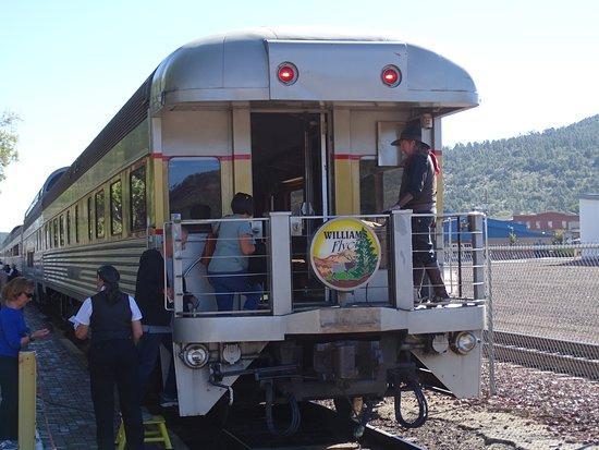 Williams Depot: Traindepot Williams