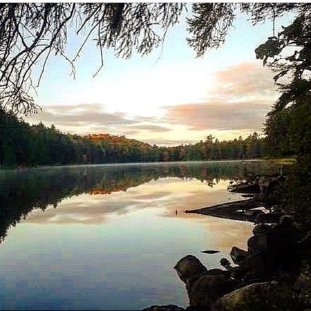 Cambridge, Canadá: Western Uplands backpacking trail - Thunder Lake - Algonquin Provincial Park
