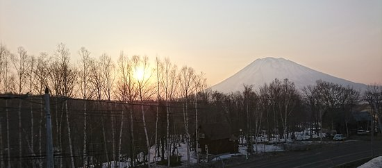 Mt. Yotei: Lovely and romantic sunrise
