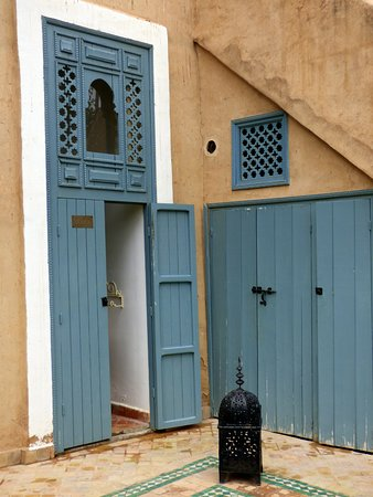 Palais Oumensour: Vers le hammam