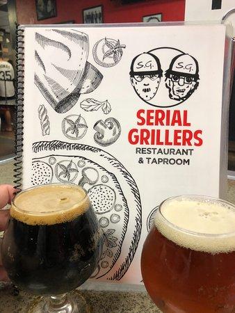 Serial Grillers : Cold beer