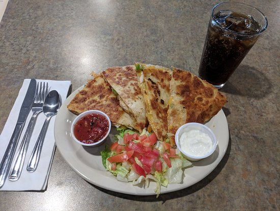 Grandville, MI: Chicken Quesadilla