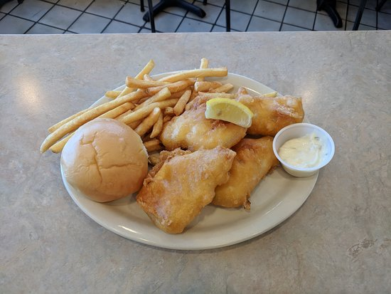 Grandville, MI: Lake Perch Dinner, served with 2 sides