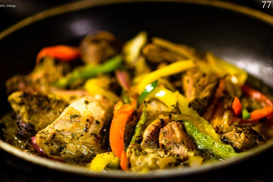 Kritikos Gallery Restaurants Pork Stir Fry With Three Colour Peppers