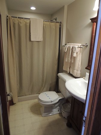 Hand Hotel Bed and Breakfast: The School Marm bathroom