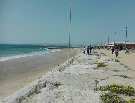 Costa da Caparica, โปรตุเกส: Praia do CDS