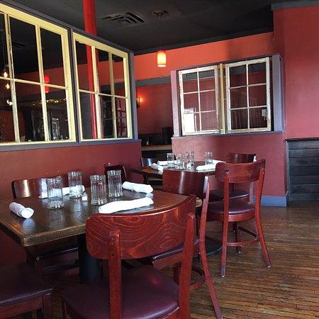 Kingston, NY: The front of the restaurant