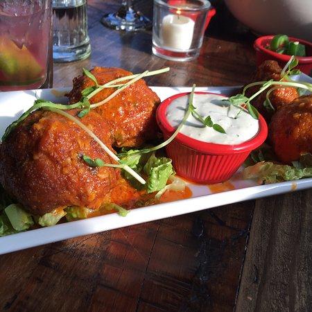 Kingston, NY: Buffalo chicken flavored cauliflower