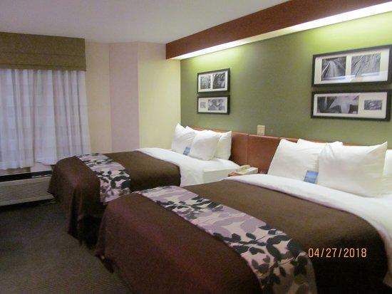 Sleep Inn & Suites Acme - Traverse City: Room #327.