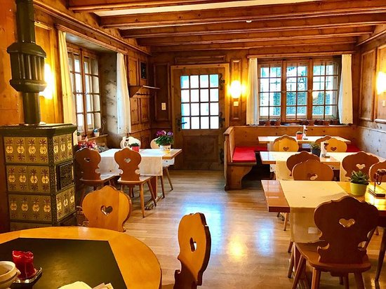 Le Prese, Szwajcaria: Sala tradizionale