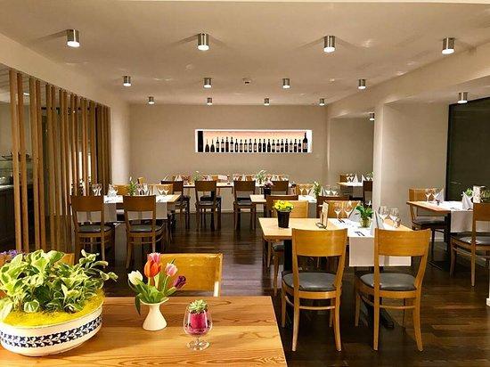 Le Prese, Szwajcaria: Sala ristorante