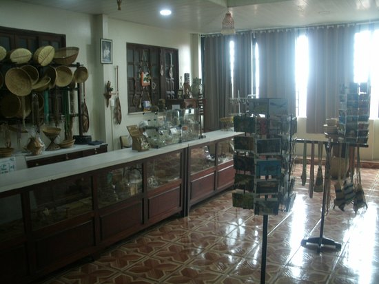 Museu do Indio: vista parcial do interior e do acervo