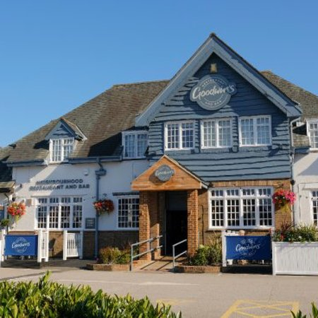 Greasby, UK: Attached restaurant Goodwin's