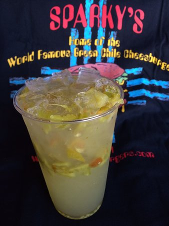 Famous Hatch Green Chile Fresh Lemonade