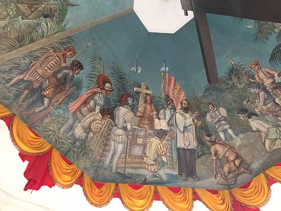 Magellan's Cross: ceiling painting