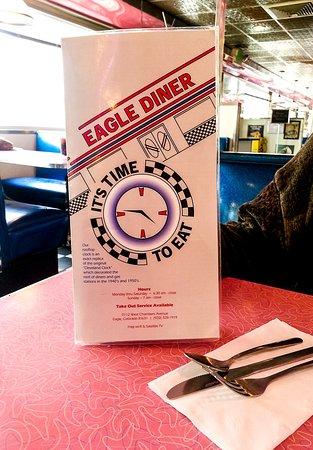 Eagle Diner: Menu