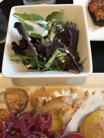 Side salad greens